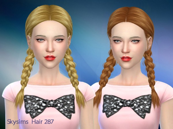 Butterflysims: Skysims  287 Una donation hairstyle