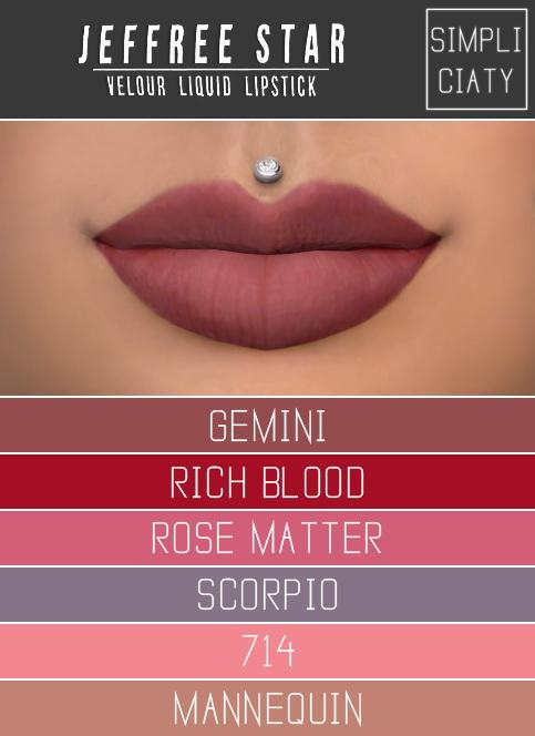 Simpliciaty: Jeffree Star Velour Liquid Lipstick
