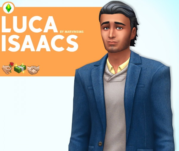 Marvin Sims: Luca Isaacs