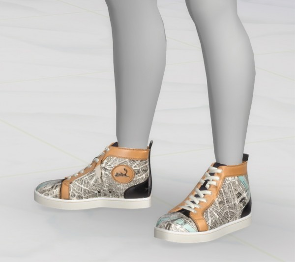 Greenapple Sneakers Sims
