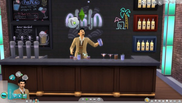 Mod The Sims Custom Bar Drinks By Icemunmun Sims 4