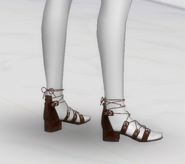 Greenapple18r S L Sandals Sims 4 Downloads