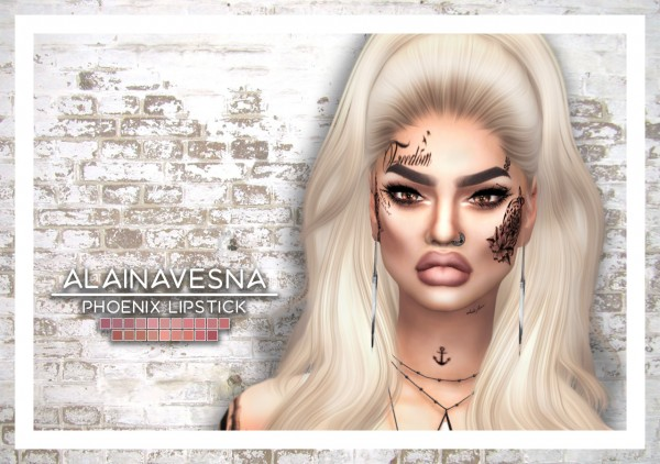 Alaina Vesna: Phoenix Lipstick