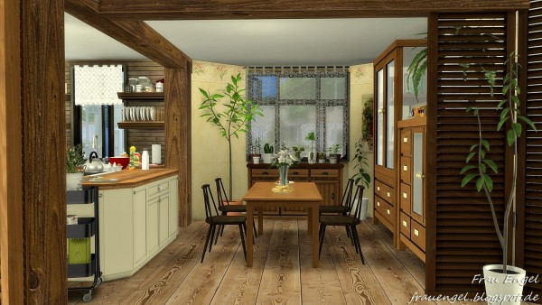 Frau Engel Grandma S House Sims 4 Downloads