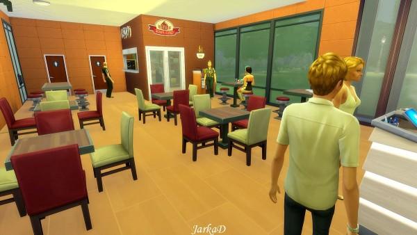 JarkaD Sims 4: McDonald's restaurant