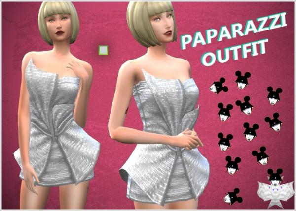 David Sims: Paparazzi Outfit