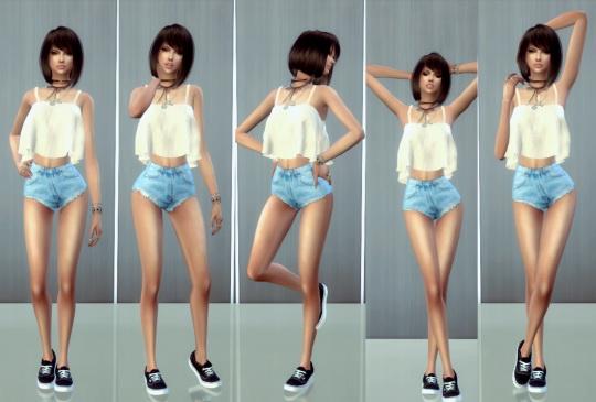 Simsworkshop: Model Pose Set 9   Pose Pack by ConceptDesign97