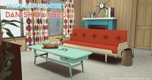 Onyx Sims: 1960s Danish Mid century Sofa