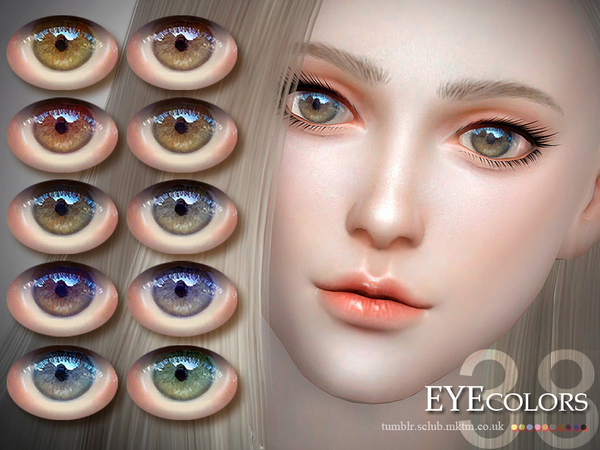 The Sims Resource: Eyecolor 38 by S Club