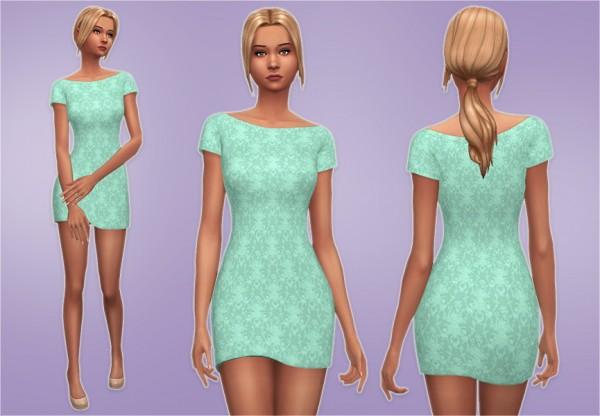 Veranka: Boat Neck Dress