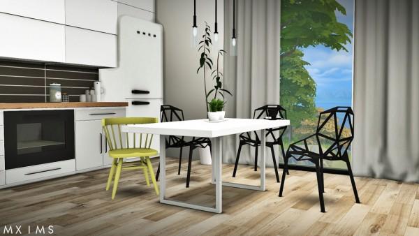 MXIMS: Gosik Skarto Dining Set, Awesims Captain Chairs U0026 Lisen Retro 50u0027s  Dining Set ...