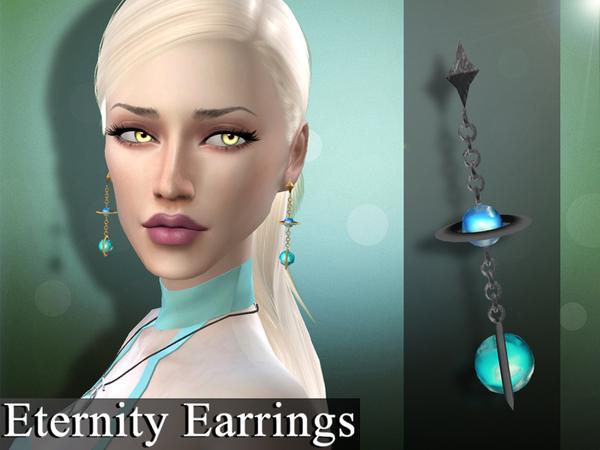 The Sims Resource: Eternity Earrings by Genius666