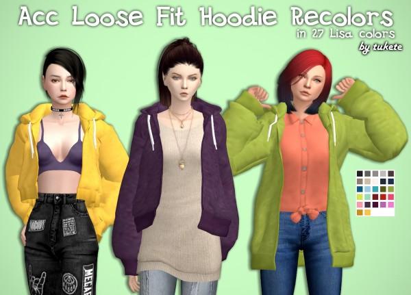 Tukete: Acc Loose Fit Hoodie Recolors