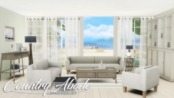 The Plumbob Architect: Country Abode A Livingroom Set ...