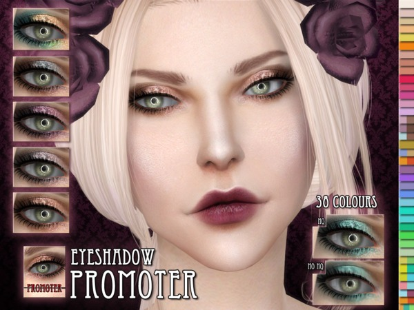The Sims Resource: Promotor Eyeshadow by Remus Sirion