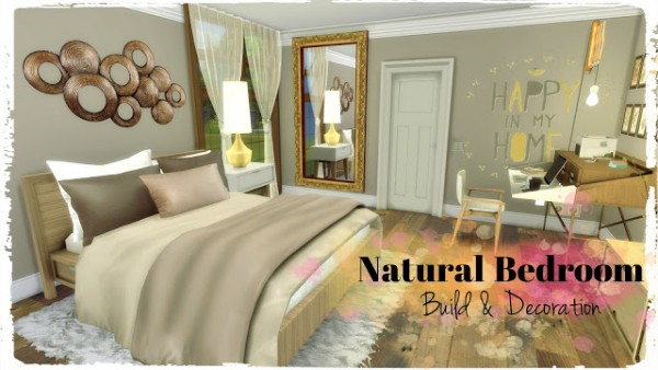 Dinha Gamer: Natural Bedroom