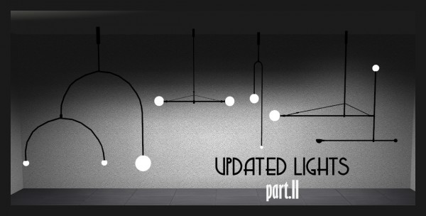 Sims 4 Designs: Lights Pack Part. 2