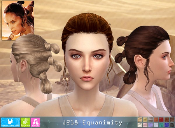 NewSea: J 218 Equanimity donation hairstyle