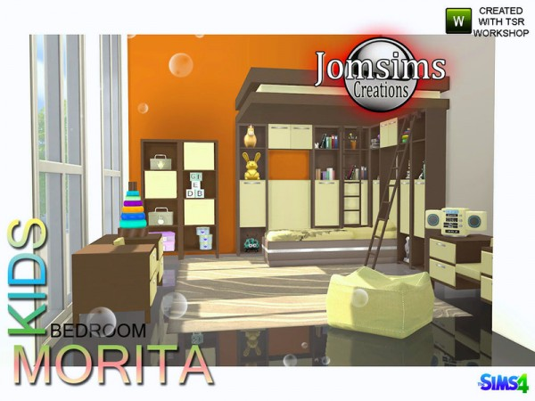 The Sims Resource Morita Kids Bedroom By Jomsims Sims 4