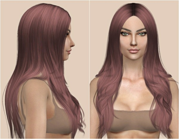 Kenzar Sims: Cazy Denial Hair Retexture