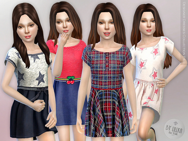 The Sims Resource: Designer Dresses Collection P40 by lillka