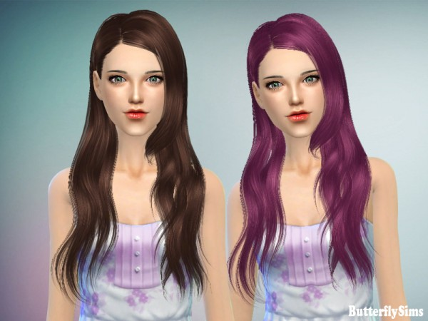 Butterflysims: B flysims 147 free hairstyle