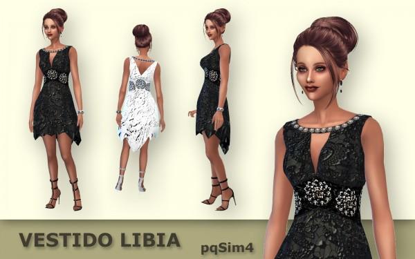 PQSims4: Libia dress