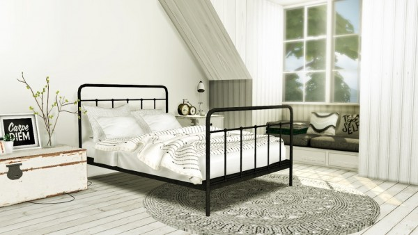 MXIMS Teyon Bed O Sims 4 Downloads