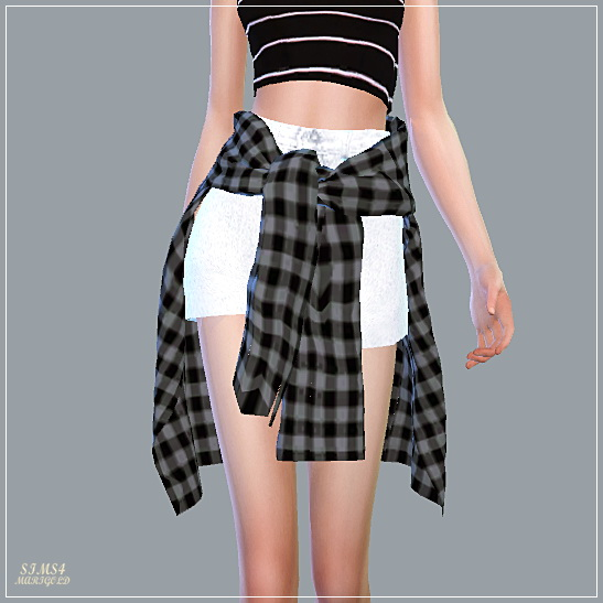SIMS4 Marigold: Hot Pants With Shirts