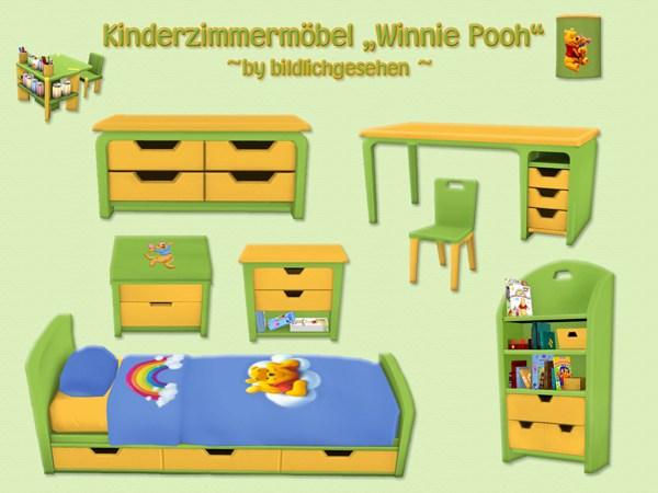 """Akisima Sims Blog: """"Winnie Pooh"""" kidsroom"""