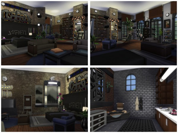 The Sims Resource: Old Brick Factory by Danuta720