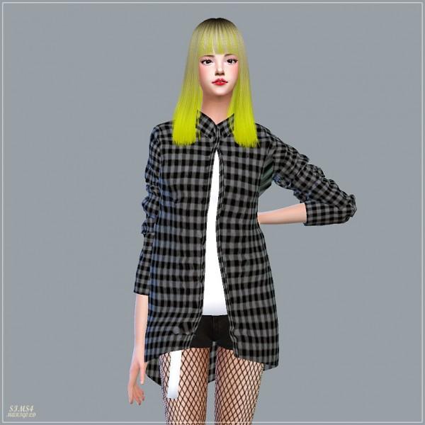 SIMS4 Marigold: Long Shirts With Tee