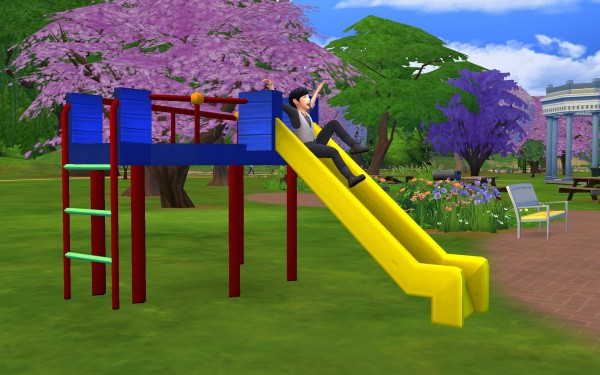 Simsworkshop All Day Fun Slide By G1g2 Sims 4 Downloads