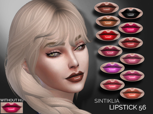 The Sims Resource: Lipstick 56 by Sintiklia
