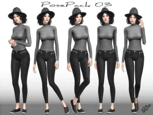 The Sims Resource: Pose Pack 03 by Ms Blue