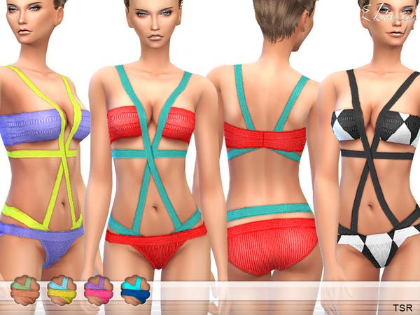 The Sims Resource: Bandage Swimsuit  by Ekinege