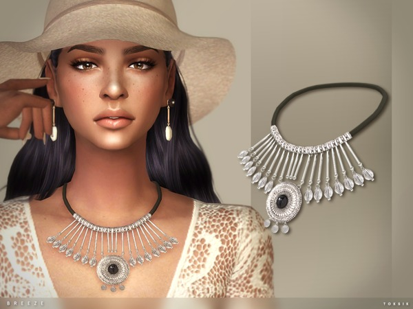 The Sims Resource: Breeze Necklace by toksik
