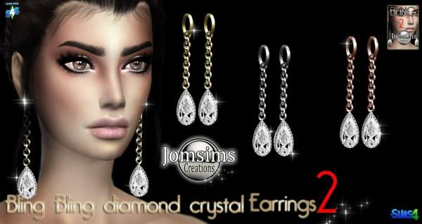 Jom Sims Creations: Blin Bling 2 earrings