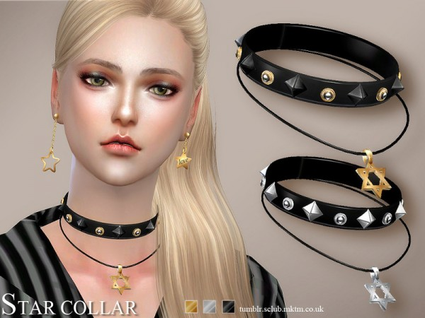 The Sims Resource: Star collar 09 by S Club