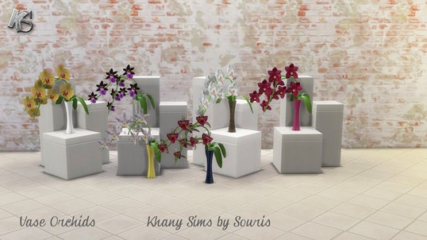 Khany Sims: Flower Vases by Souris