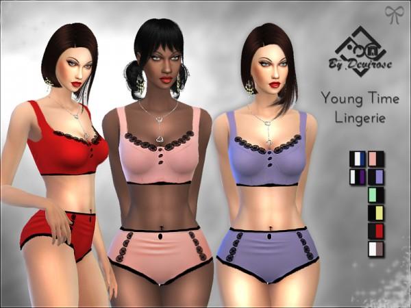 4 dessous sims Sims 4