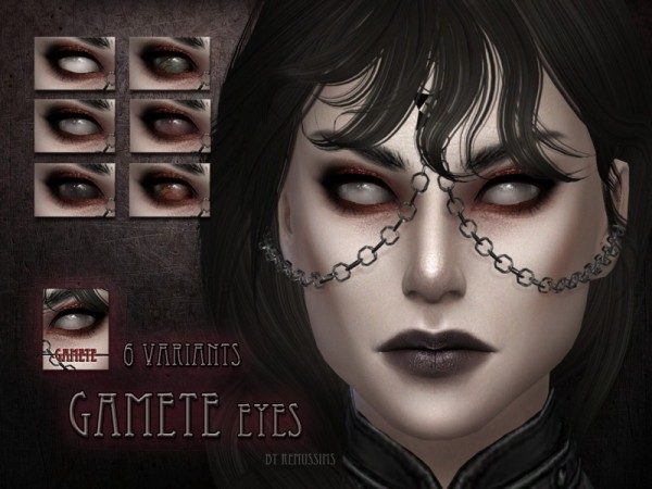 The Sims Resource: Gamete Eyes by RemusSirion