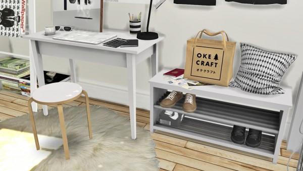 MXIMS: IKEA Office Set, Tjusig Hallway Set and DC Shoes Deco