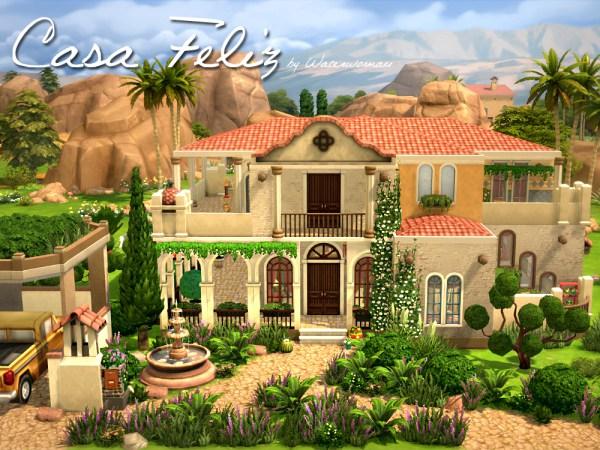 Akisima Sims Blog: Feliz house