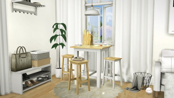 Mxims Ikea Bar Set Sims 4 Downloads
