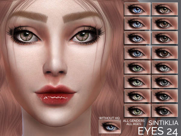The Sims Resource: Eyes 24 by Sintiklia