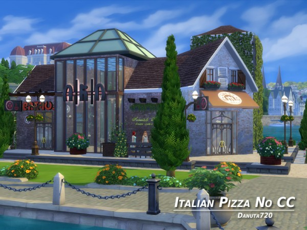 The sims resource italian pizza restaurant by danuta