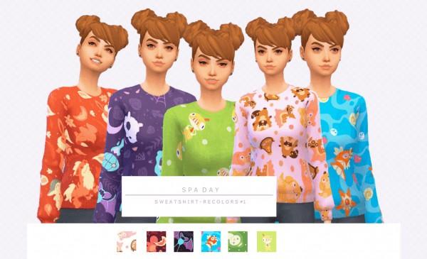 Simsworkshop: Sweatshirt Recolors 1.0 by asimsfetish