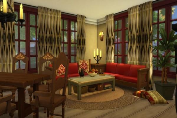 Blackys Sims 4 Zoo: Grandmas House by ChiLLi