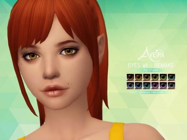 Aveira Sims 4: Eyes 11   Remake
